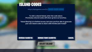 Fortnite Island Codes