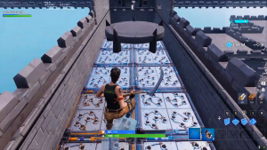 Massive Fortnite Deathrun Map Code Screenshots 4